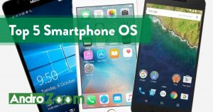 Top 5 Smartphone OS